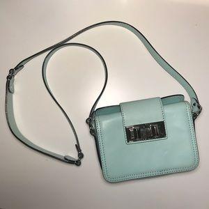 EUC Rebecca Minkoff Mini Box Bag Purse - Mint